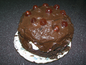 Black Forest Gateau, made by Robin