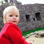 Grandma and Grandpa took Zoe to a castle.