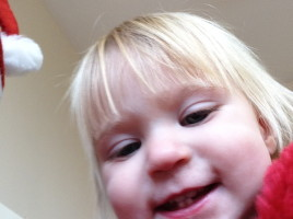 Zoe took a selfie
