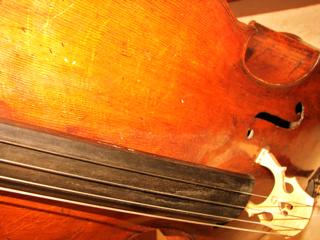My borrowed cello